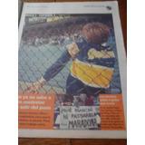Diario Ole 3/5/1998 - Boca 2 Español 3 / Claudio Biaggio