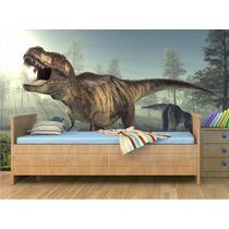 Adesivo Dinossauro Papel Parede Decorativo Infantil Zoo Md01