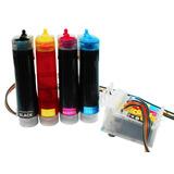 Sistema De Tinta Para Ep Xp 201-211 +kit Tinta Dye 400ml