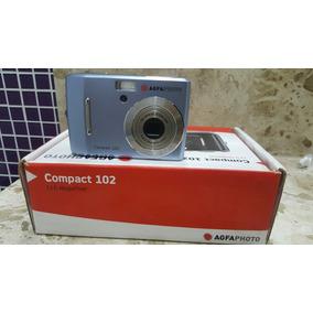 Câmera Agfa Photo Compact 102 12mp 3x Zoom A Pilhas