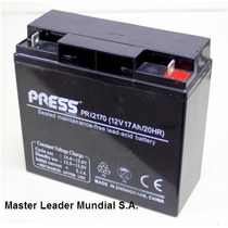 Bateria Gel Press 12v 17ah Mas Duracion Equipos Ups Luces