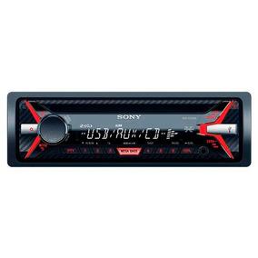 Toca Cd Sony Cdx-g1170u Mp3/wma/rádio Am E Fm Com Usb E Auxi