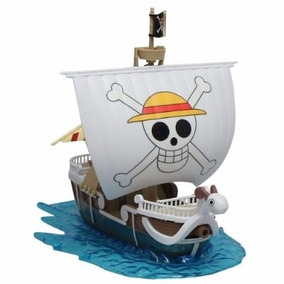 Miniatura Going Merry One Piece Barco Luffy Chapéu Palha