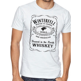 Camiseta Blusa Jack Daniels Winterfell Game Of Thrones - Top