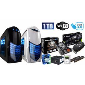 Pc Gamer I5 7400 8gb Geforce Gtx 1050ti 4gb 1tb Wi Fi Novo