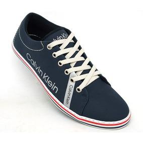 6bceab35e9b Sapato Calvin Klein - Sapatos Azul petróleo no Mercado Livre Brasil