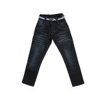 Calça Jeans Black Infantil Meninos Masculino + Cinto T 4/6/8