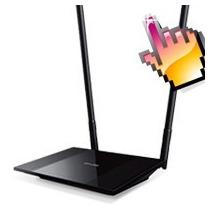 Router De Alta Potencia Tp-link Wr841hp 300 Mbps 2 Antena