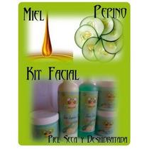 Kit Facial Completo De Miel Y Pepino