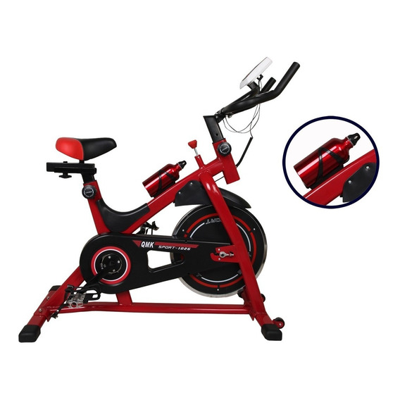Bicicleta Spinning Indoor Profesional Reforzada 13k De Disco