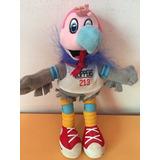Peluche Los Angeles Clippers Chuck Mascota Pet Nba Toy Bird