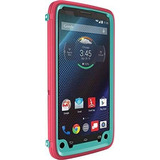 Otterbox Droid Turbo Defender Series Case, Teal Rose