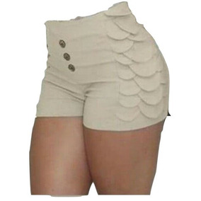 Shorts Curto Com Escamas