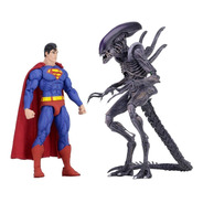 Alien Vs. Superman 2.-pack Sdcc 2019 Figuras N.e.c.a. Neca