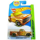 Auto Hot Wheels Custom 69 Chevy Pick Up Chevrolet Retro Rdf1