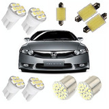 Kit Led New Civic 2006 2007 2008 2009 2010 2011 Branca Xenon