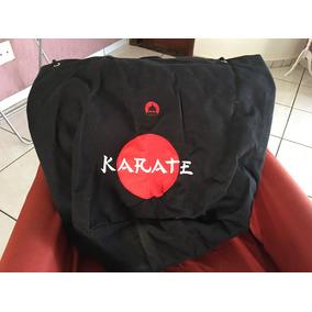 Mochila Saco Lona Trançada Karate Sol Marca Dojo