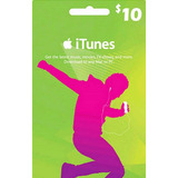 Codigo Itunes 10 Usd Apple Gift Card Itunes 10usd Digital