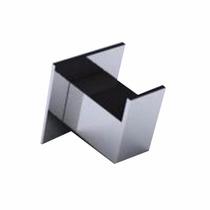 Gancho Cabide Toalha De Rosto Quadrado Inox Modelo Steel