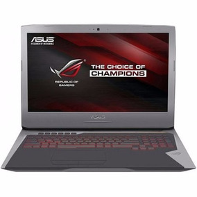 Asus G752vs 17.3 Core I7 - Gtx 1070 8gb Ded + Mochila
