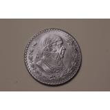 Moneda 1 Peso Tepalcate 1958 Limpia