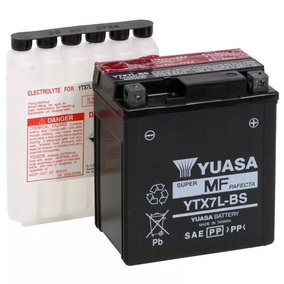 Bateria Yuasa Ytx7l-bs Twister Cb300 Falcon Original +brinde