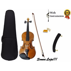 Violino 3/4 Ou 4/4 + Espaleira