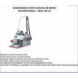 Equipo De Planchado Industrial Generador De Vapor Y Plancha