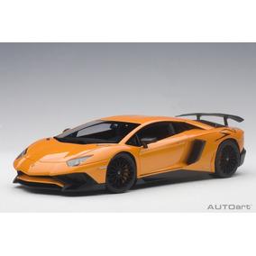 Lamborghini Aventador Lp750-4 Sv Color Naranja Metálico