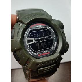 Reloj Casio G Shock G 9000 Mudman Verde Militar Original