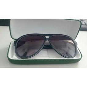 0d3042dfe44fa Óculos De Sol Lacoste L741s - Verde Escuro - 424 56 - Origin