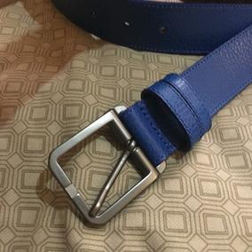 Cinturon Hugo Boss Azul Original