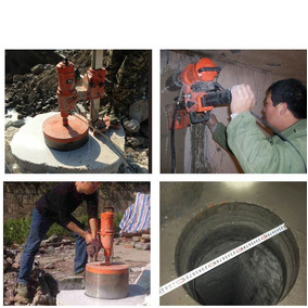 Taladro Industrial Para Perforar Cemento En Pisos Y Paredes