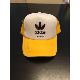 Gorra Trucker adidas Originals Amarilla/blanco