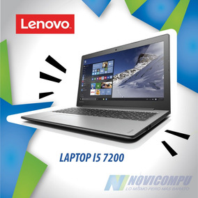 Laptop Lenovo I5 7200+ 1tb+ 8gb+ Dvdwr+ Bt+ W10