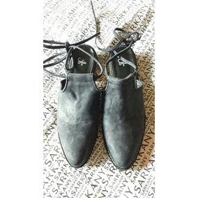 Sofia Sarkany N.38 Zapato S/talon Nuevo /mishka/prune/sarkan