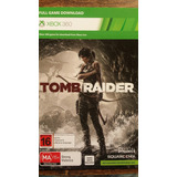 Tom Raider Juego Descargable Xbox 360 Entrega Inmediata