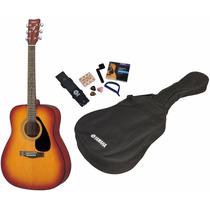 Guitarra Acústica Folk Yamaha F310-p Tbs Accesorios 6 Pagos