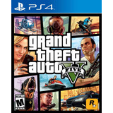 Gta 5 Grand Theft Auto V Juego Ps4 Playstation Oferta
