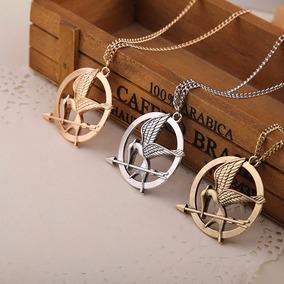 Collar Con Dije De Sinsajo Juegos Del Hambre Hunger Games