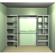 Interior De Placard Blanco+abs 2.40 M. Ancho (modificable)
