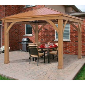 Pergolas madera para jardin en mercado libre m xico for Fabricacion de jardines