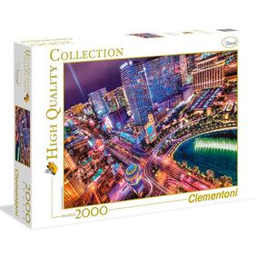 Puzzle Clementoni 2000 Pzas Las Vegas