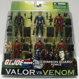 Gi Joe Año 2004 Valor Vs Venom Series 6 Pack 4 Pulgadas...