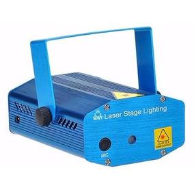 Laser Lluvia Multipunto Rojo Y Verde Audioritmico Flash