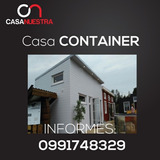 Casa Container Camper Prefabricada Quito Guayaquil Hermosa