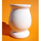Mate De Ceramica Criollo Blanco Pampa Ideal Souvenir