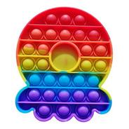 Pop It Polvo Anti Stress Colorido Toy Fidget Oferta