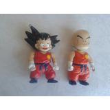 Goku Y Krillin Figuras Retro De Los 90s Bootleg