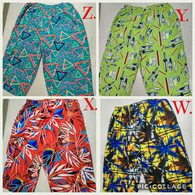 Pantalonetas Hawaianas Hombre Y Playa Talla Extragrande Xxl